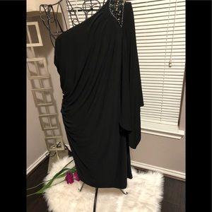 One shoulder dress!! NWT